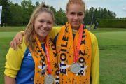 Médaillées d'argent aux Jeux du Québec